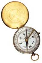 A picture of a compass depicting Capitis helping you in the right direction